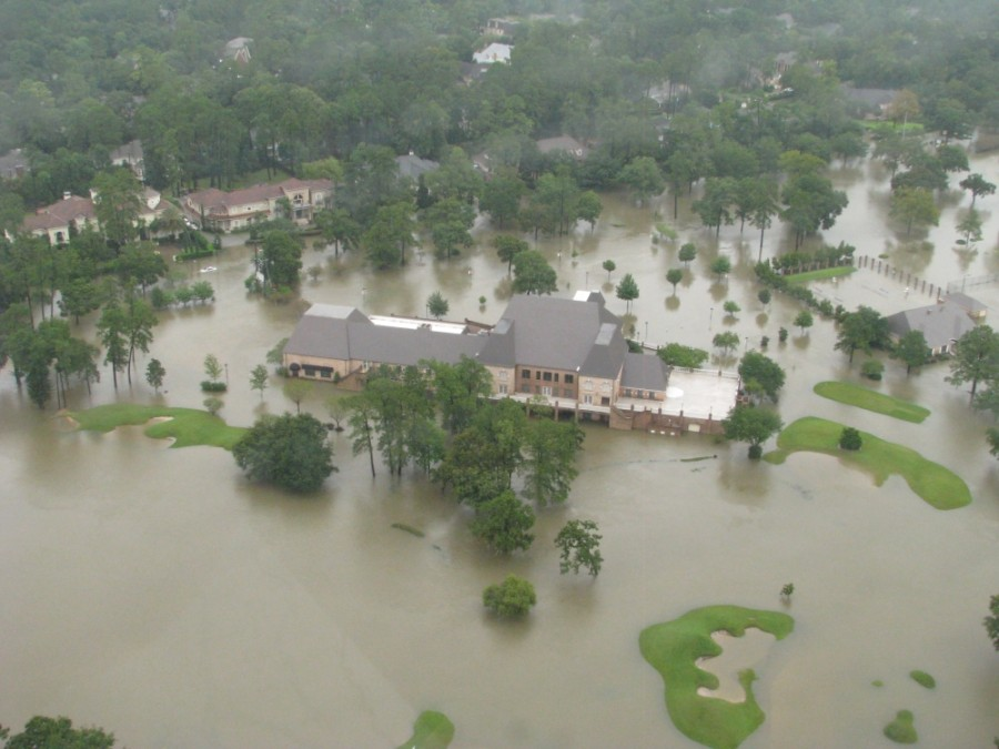 Raveneaux Country Club was one of thousands of properties that flooded during Hurricane Harvey in 2017. (Courtesy Harris County Flood Control District)
