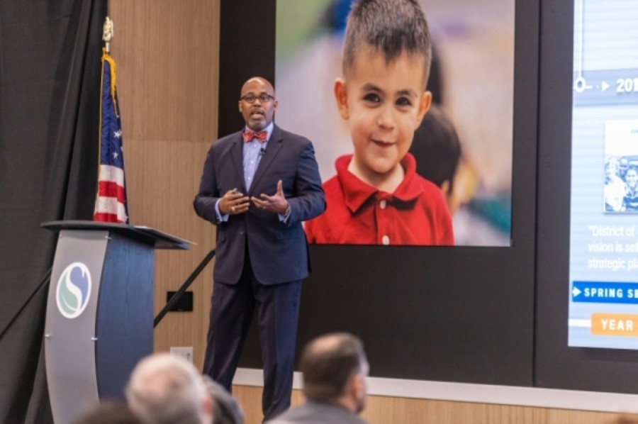 One week after the approval of Spring ISD's revised 2020-21 instructional calendar, which includes intersessional breaks and extends into late June, Superintendent Rodney Watson said he stands by the district's decision to adopt a revised calendar without seeking community feedback. (Courtesy Spring ISD)