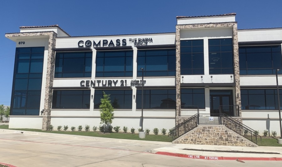 The Sharma Group-Compass Real Estate is now open in Flower Mound. (Brian Pardue/Community Impact Newspaper)