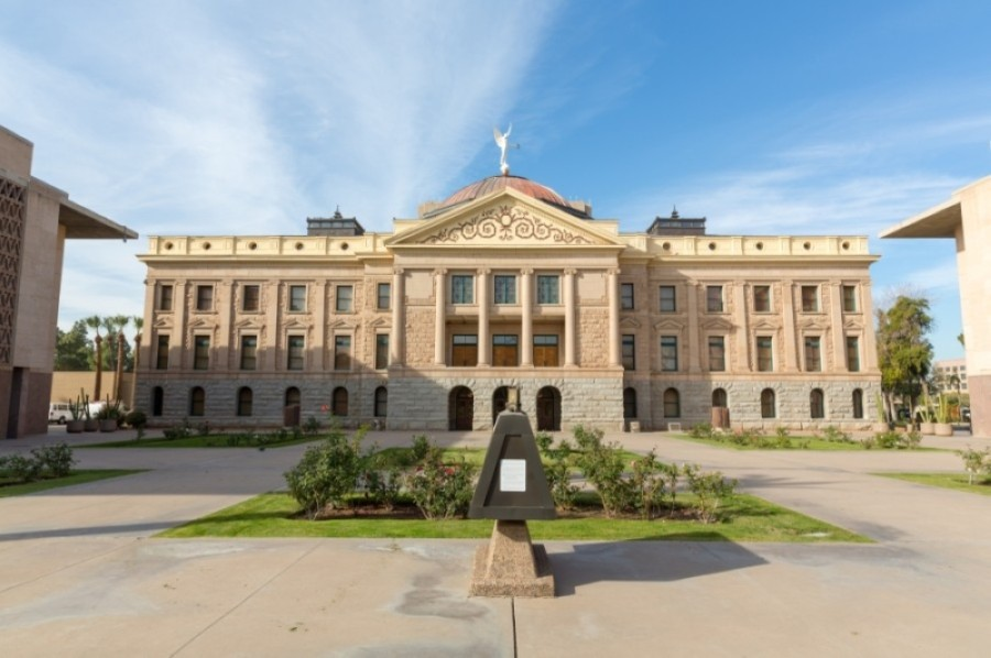 Gov. Doug Ducey issued an emergency declaration and imposed a statewide curfew May 31. (Courtesy Adobe Stock)