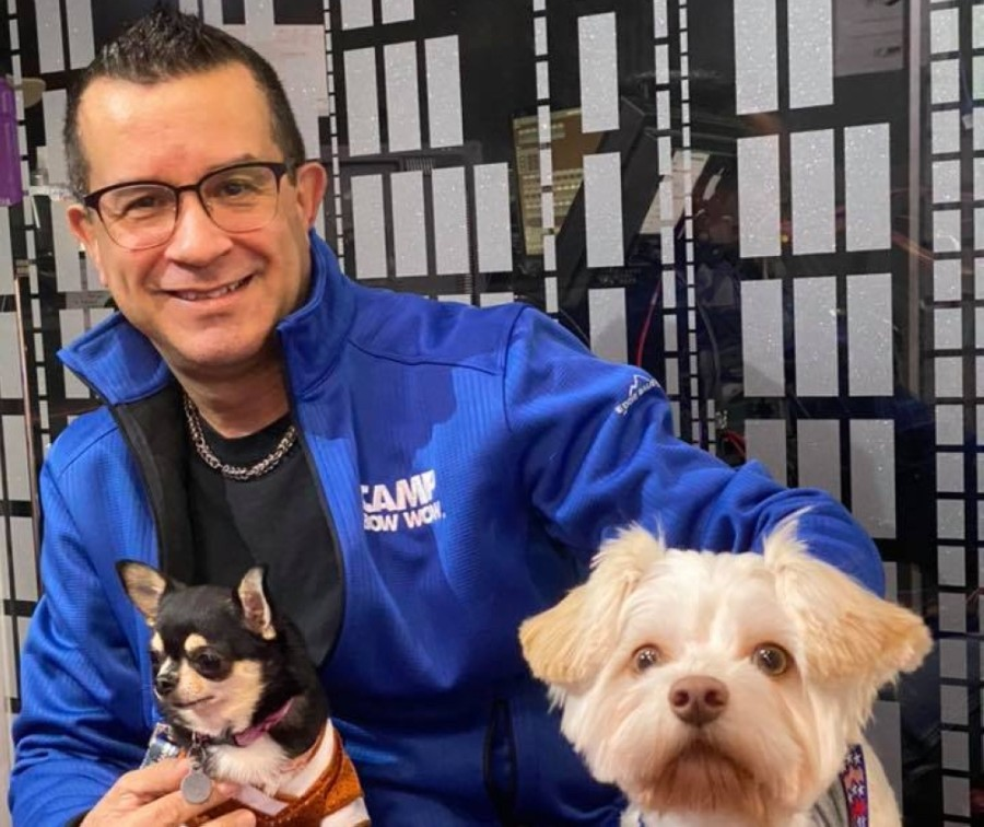 José Morillo will open a new Camp Bow Wow on Telge Road in Cypress on June 12. (Courtesy Camp Bow Wow)