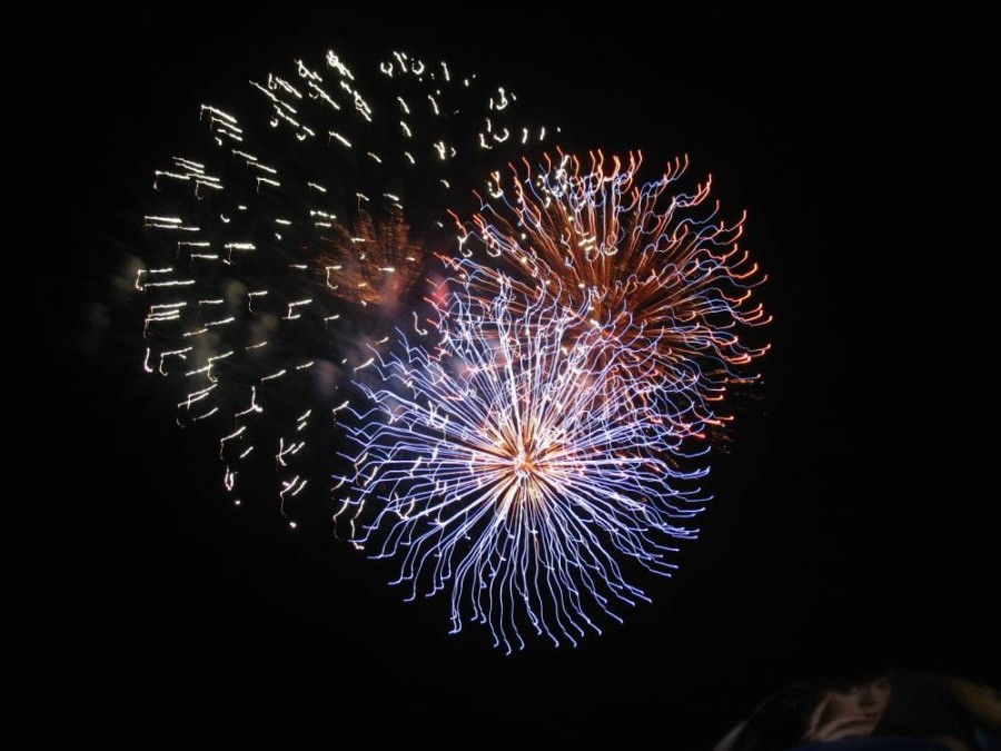 The city of Plano's Fourth of July fireworks will take place at a higher altitude this year, allowing residents to view the show from farther away to slow the spread of the coronavirus. (Courtesy city of Plano)