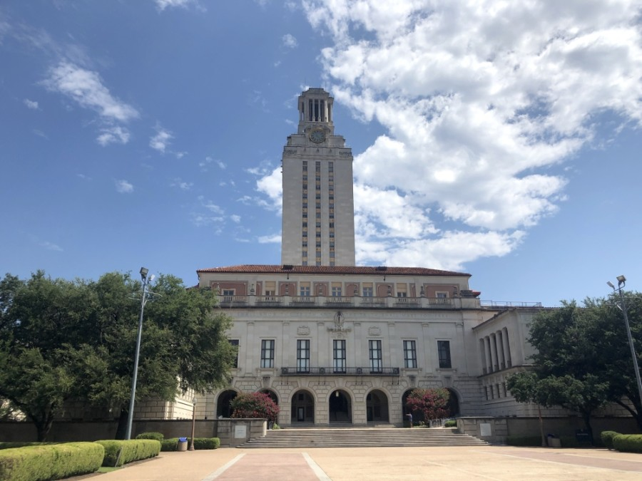 The University of Texas will require face coverings on campus this fall. (Jack Flagler/Community Impact Newspaper)