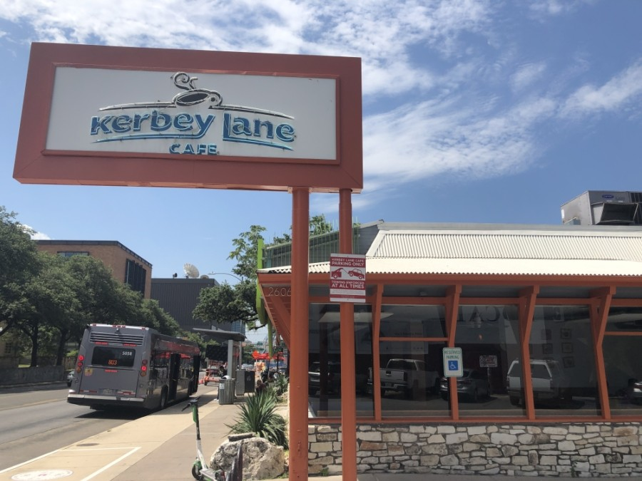 The Kerbey Lane Cafe at 2606 Guadalupe St. is one of eight locations in the Austin area. The original opened on Kerbey Lane in Central Austin in 1980. (Jack Flagler/Community Impact Newspaper)