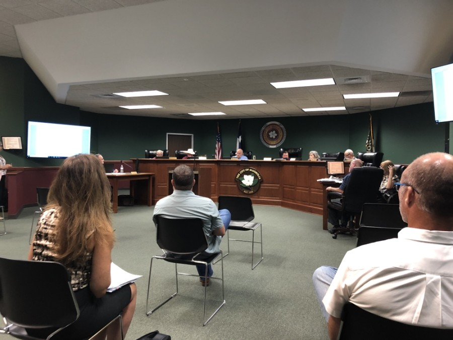 A proposed 105-home development just north of Kelly Road caused traffic and road concerns from Magnolia City Council. (Dylan Sherman/Community Impact)