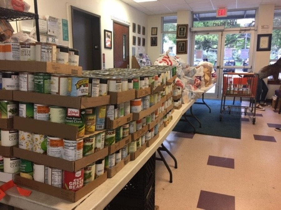 Round Rock Area Serving Center manages a food pantry and provides financial assistance to residents who need help paying for rent, utilities, prescriptions, transportation and temporary lodging. (Courtesy Round Rock Area Serving Center)
