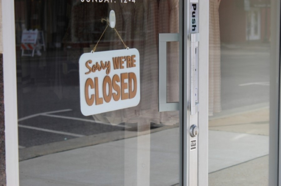 Several businesses in New Braunfels have closed this week due to employees testing positive for the coronavirus. (Wendy Sturges/Community Impact Newspaper)