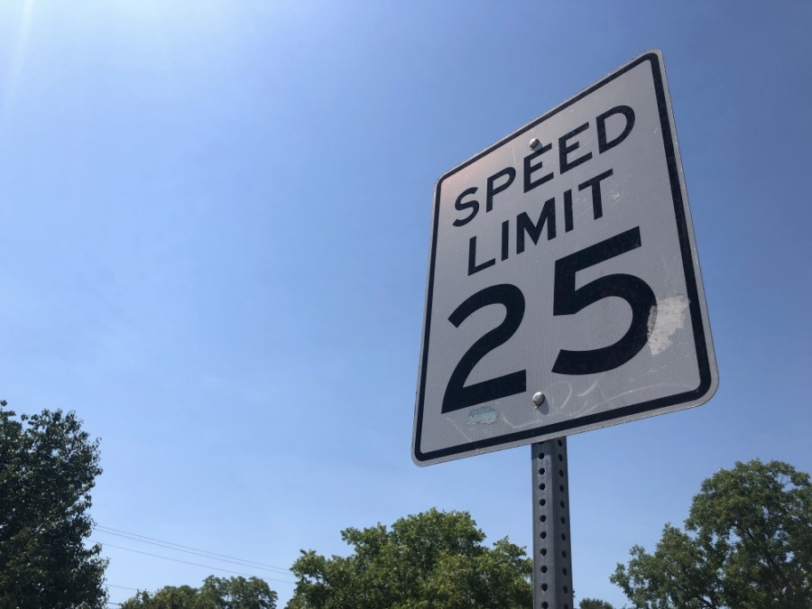 Speed limits will be reduced to 25 mph on many of Austin's neighborhood streets. (Jack Flagler/Community Impact Newspaper)