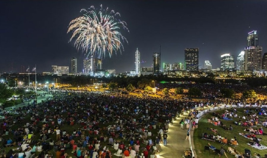 The Fourth of July celebration and concert in downtown Austin will be canceled this year due to the coronavirus. (Courtesy Ricardo Brazziel)