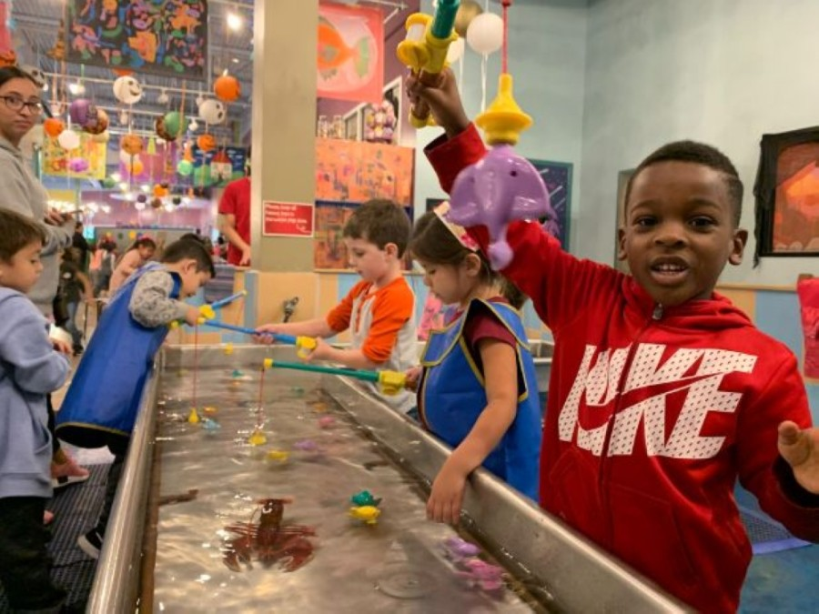 The Woodlands Children's Museum provides education and interactive opportunities for children.