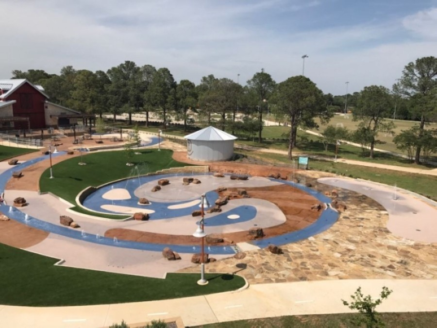 Additional rules will be implemented at the Doubletree Ranch Park splash pad, and those who use the facility will be asked to self-regulate once it reopens June 12. (Courtesy city of Highland Village)