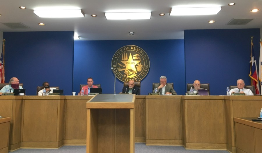 At the June 11 Humble City Council meeting, the council heard a report from the Lake Houston Economic Development Partnership about the city's demographic makeup, a growth in the industrial sector and future plans to bring in new businesses. (Kelly Schafler/Community Impact Newspaper)