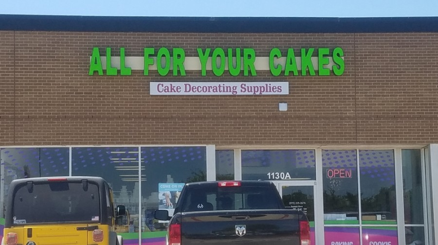 All For Your Cakes makes custom cakes, sells cake supplies, and offers baking and decorating classes. (Community Impact staff)