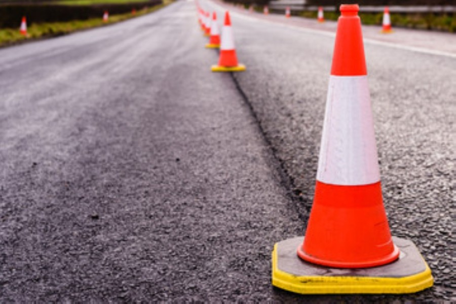 The sealant is applied to the surface of the roadway to reduce damage from ultraviolet radiation and vehicle traffic. (Courtesy Adobe Stock)