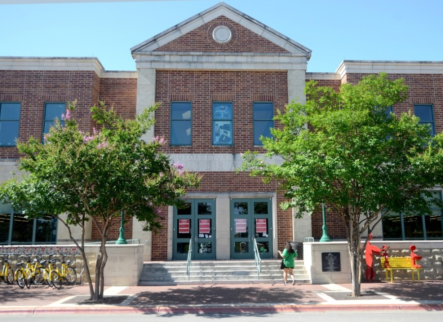 The Georgetown Public Library is located at 402 W. Eighth St., Georgetown. (John Cox/Community Impact Newspaper)