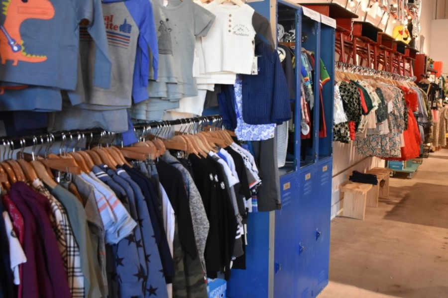 Hipster Baby is closing its storefront in the II Creeks Plaza development in Canyon Creek. (Makenzie Plusnick/Community Impact)