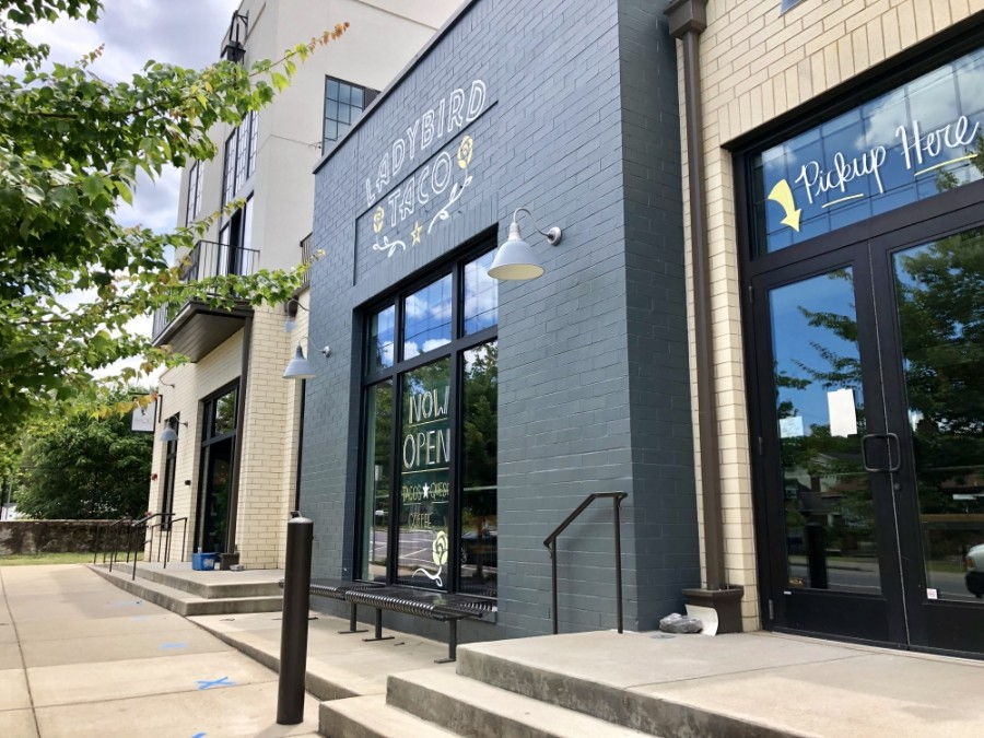 Ladybird Taco has opened in the 12 South area at 2229 10th Ave. S., Nashville. (Dylan Skye Aycock/Community Impact Newspaper)