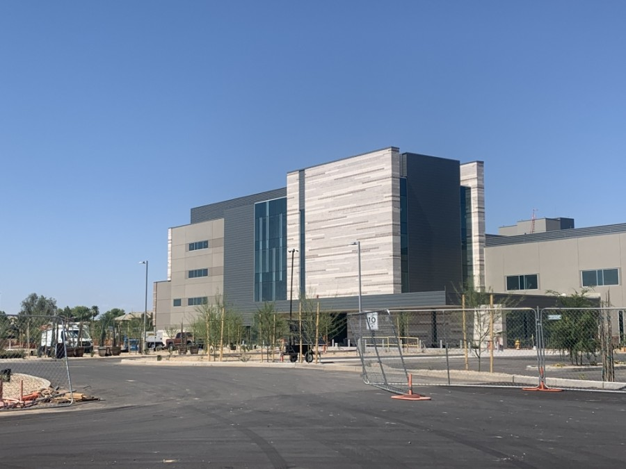 Banner Ocotillo Medical Center, Chandler's newest hospital, is scheduled to open Nov. 2, Chief Operating Officer Nate Shinagawa said. (Alexa D'Angelo/Community Impact Newspaper)