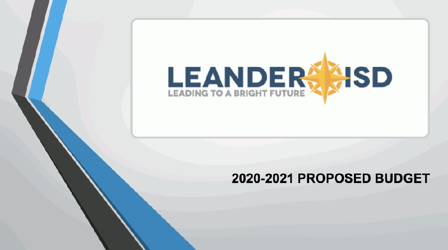 Leander ISD will hold a public hearing and vote on the proposed 2020-21 budget and property tax rate at its June 18 meeting. (Courtesy Leander ISD)
