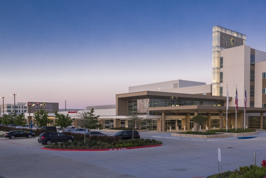 Memorial Hermann finished the final part of its expansion in May. (Courtesy Memorial Hermann)