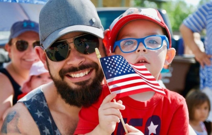 This year, in place of the city's traditional Independence Day parade, three Community Spirit Neighborhood Parades will travel through Round Rock neighborhoods. (Photo courtesy city of Round Rock)