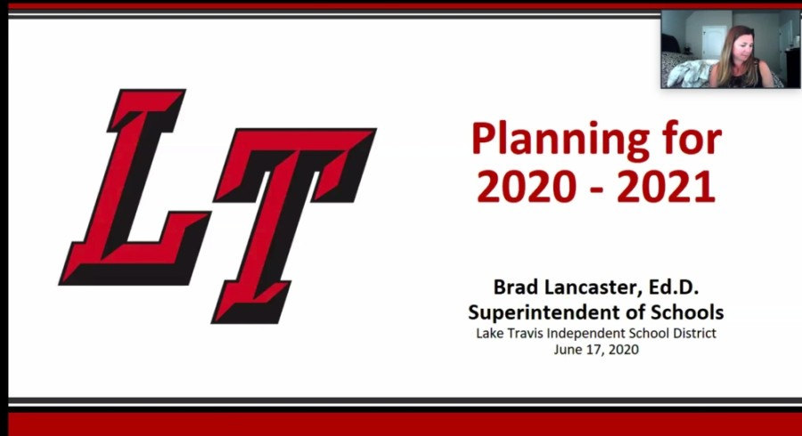 The Lake Travis ISD board of trustees reviewed the results of a survey focused on the 2020-21 school year during a June 17 virtual board meeting. (Courtesy Lake Travis ISD)