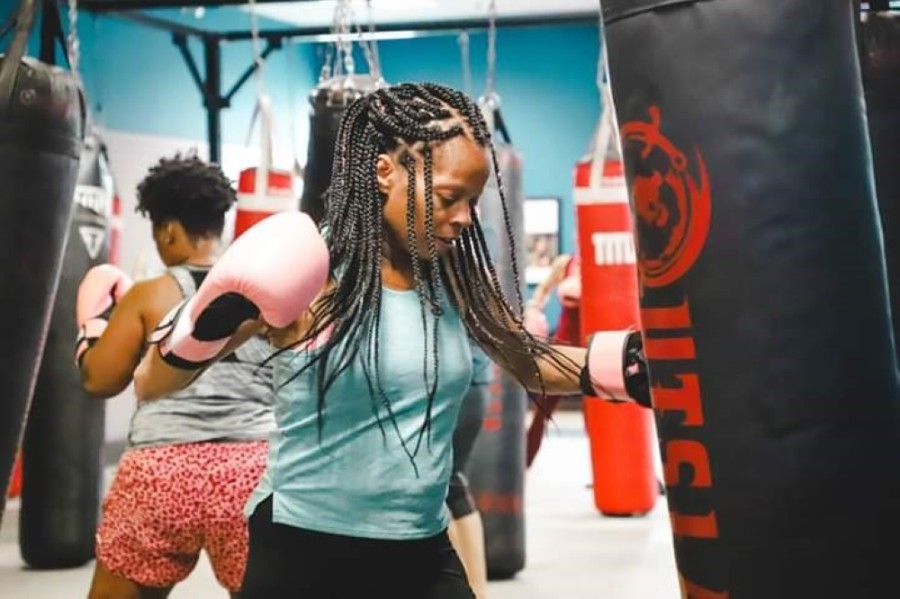 Total Fitness Kickboxing-Round Rock offers kickboxing classes and nutritional support. (Courtesy Billy Malady)
