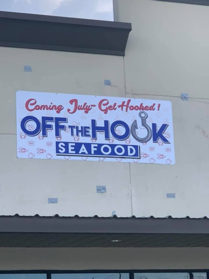 Off The Hook Seafood is opening across from the Kroger on Rayford Road. (Courtesy Off The Hook Seafood)