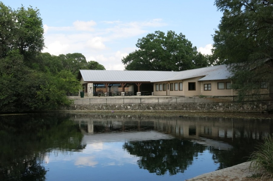 Landa Recreation Center and Landa Haus (pictured) are closed to the public until further notice. (Courtesy city of New Braunfels)