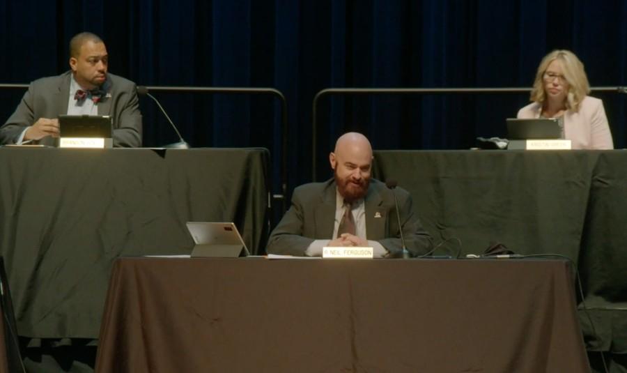 council members at meeting