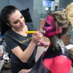 The makeup institute teaches special effects makeup. (Courtesy L Makeup Institute)