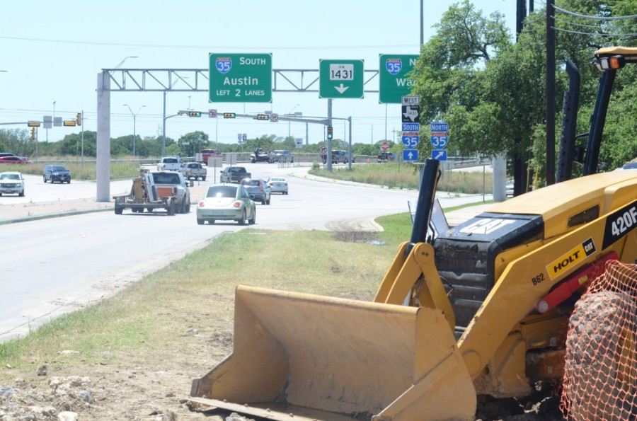 """It's necessary to get these projects done and not only to deal with our current congestion but to better prepare us for what ultimately will be imminent,"" Transportation Director Gary Hudder said. (John Cox/Community Impact Newspaper)"