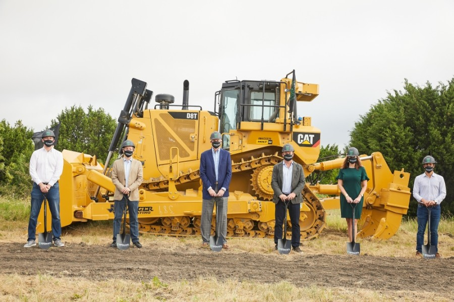 Austin FC officials break ground on the St. David's Performance Center