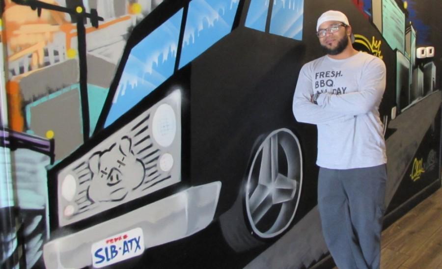 SLAB co-owner Raf Robinson