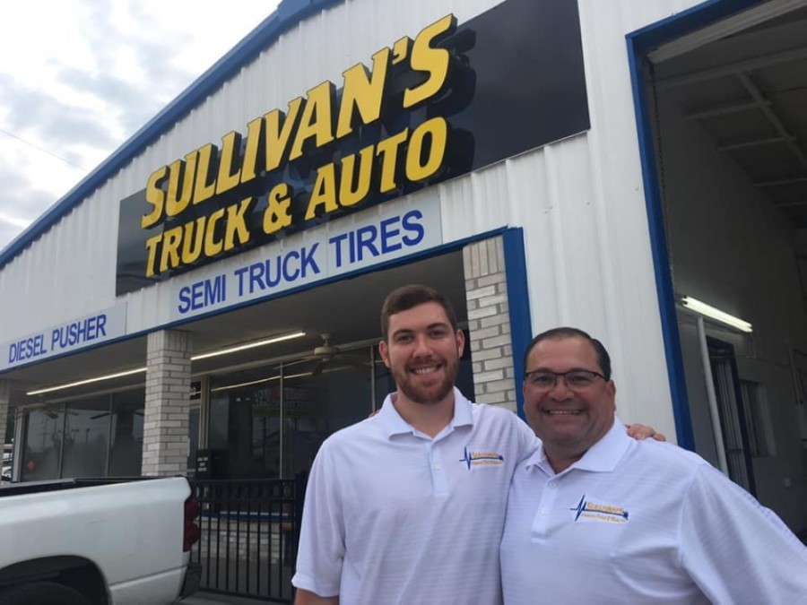 Owner Danny Sullivan (right) and his son, Michael (left), run Sullivan's Advanced Paint & Body Shop. (Courtesy Sullivan's Advanced Paint & Body Shop)