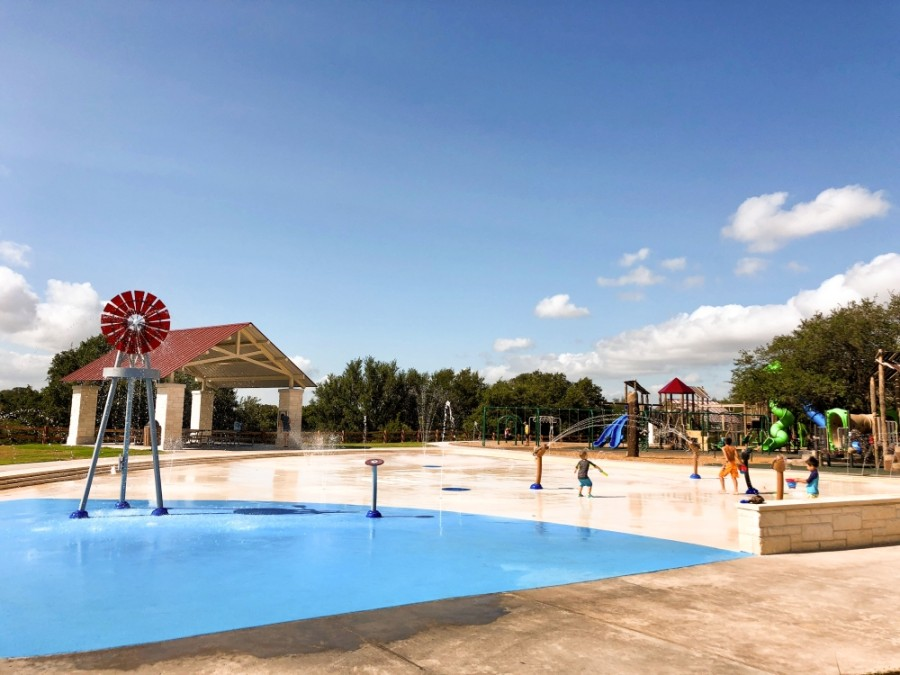 Garey Park Splash Pad will open June 25. (Courtesy Georgetown Parks and Recreation Department)