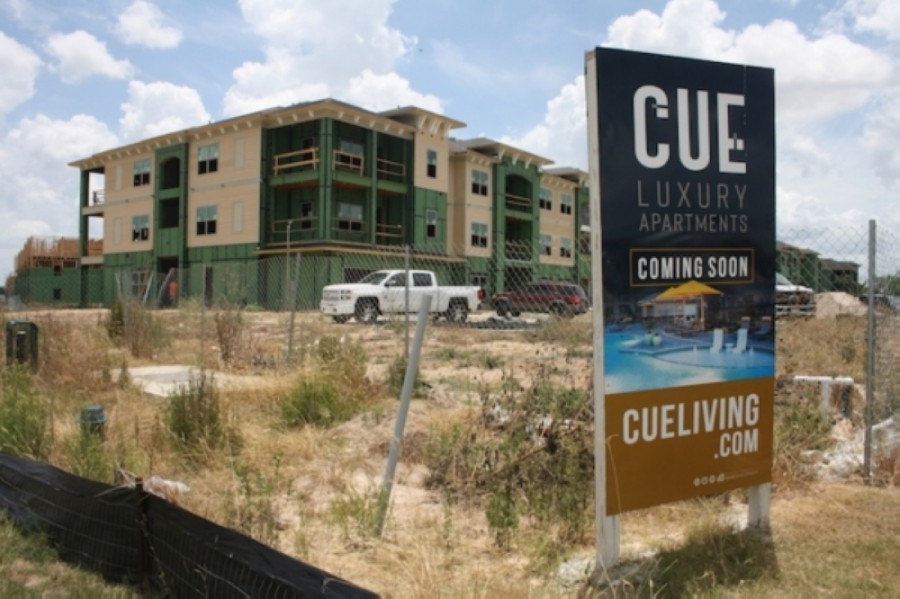 Nearly three fourths of the apartment units under construction or planned for the Greater Houston area are Class A, or luxury apartments with high-end rents. (Shawn Arrajj/Community Impact Newspaper)