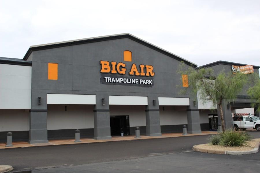 Big Air Trampoline Park is open in Chandler. (Alexa D'Angelo/Community Impact Newspaper)
