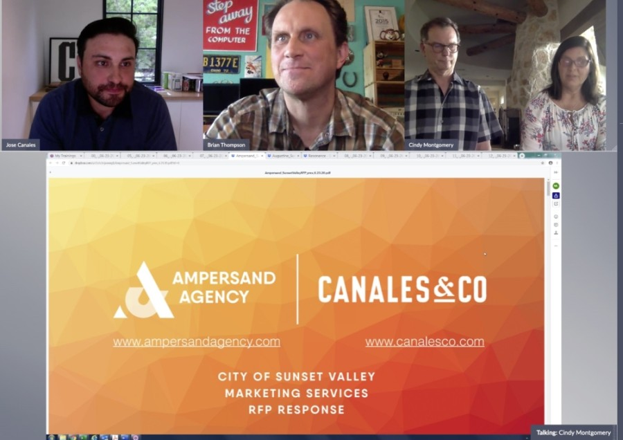 Ampersand Agency and Canales & Co. team