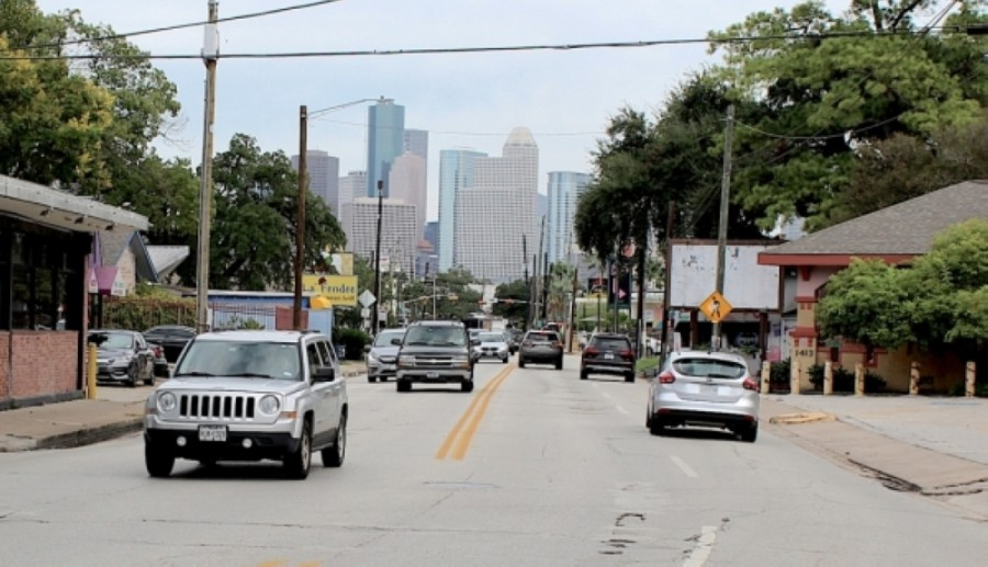 The city of Houston is planning to seek federal funding to bring improvements to Westheimer Road. (Emma Whalen/Community Impact Newspaper)
