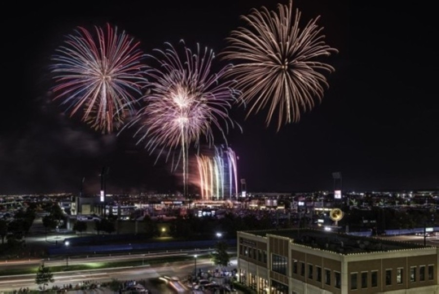 The city's annual Fireworks Extravaganza is scheduled to start at 9:30 p.m. July 4. (Courtesy Visit Frisco)