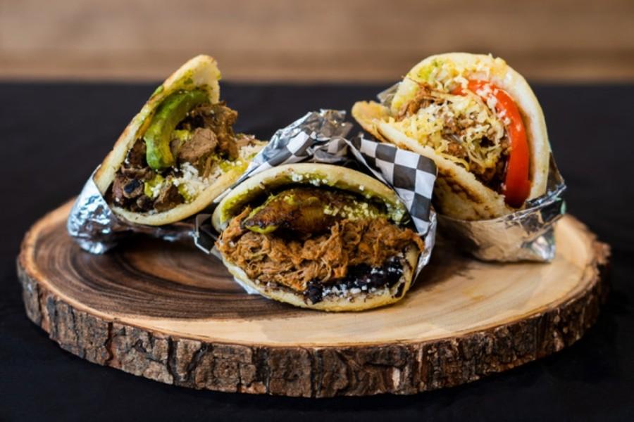 Latin fusion burritos