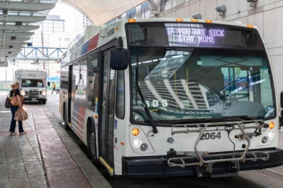 METRO saw a 53% drop in total monthly ridership in May 2020 compared to last year. Courtesy Metropolitan Transit Authority of Harris County