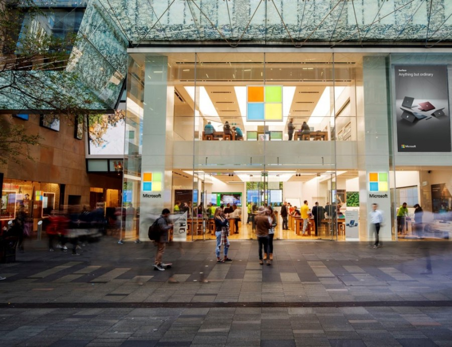 Microsoft announced the closure of most of its physical retail locations June 26. (Courtesy Microsoft)