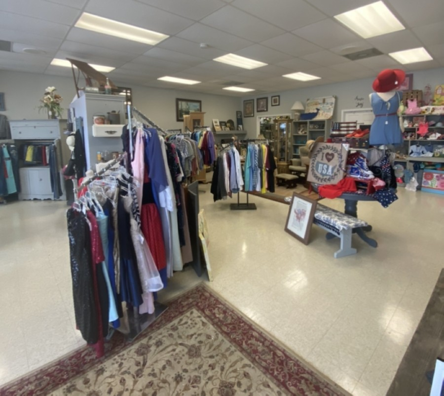 The store had been closed for two months prior during renovations, which included new paint, renovated displays and a floor reset. (Courtesy Society of Samaritans)