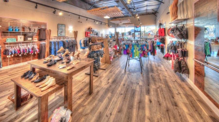 The boutique, which opened Aug. 15, 2019, offered a variety of clothing and supplies geared toward dancers and gymnasts, including tights, leotards, yoga pants and other athletic wear. (Courtesy Kiera's Dance Boutique)