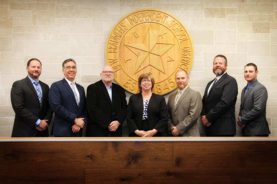 The NBISD board of trustees will host their meeting virtually June 29. (Courtesy New Braunfels ISD)