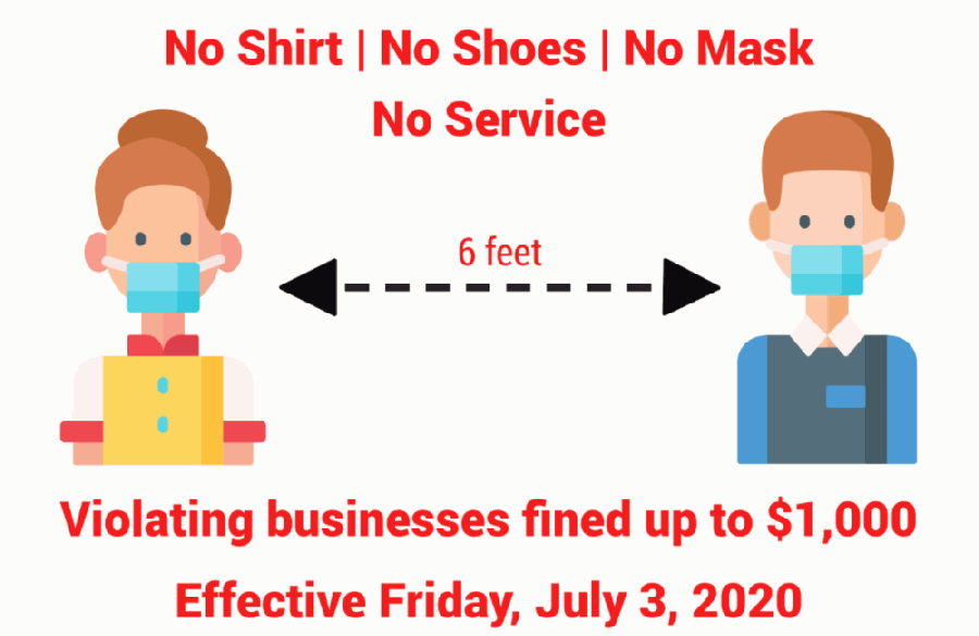 If a business has a customer who is unwilling to abide by the order, the business can ask the individual to leave. If they refuse to leave, the business can call 911. Georgetown police will respond, and if the individual still refuses to leave, the individual may be arrested and charged with criminal trespassing. (Courtesy city of Georgetown)