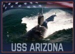 USS Arizona submarine