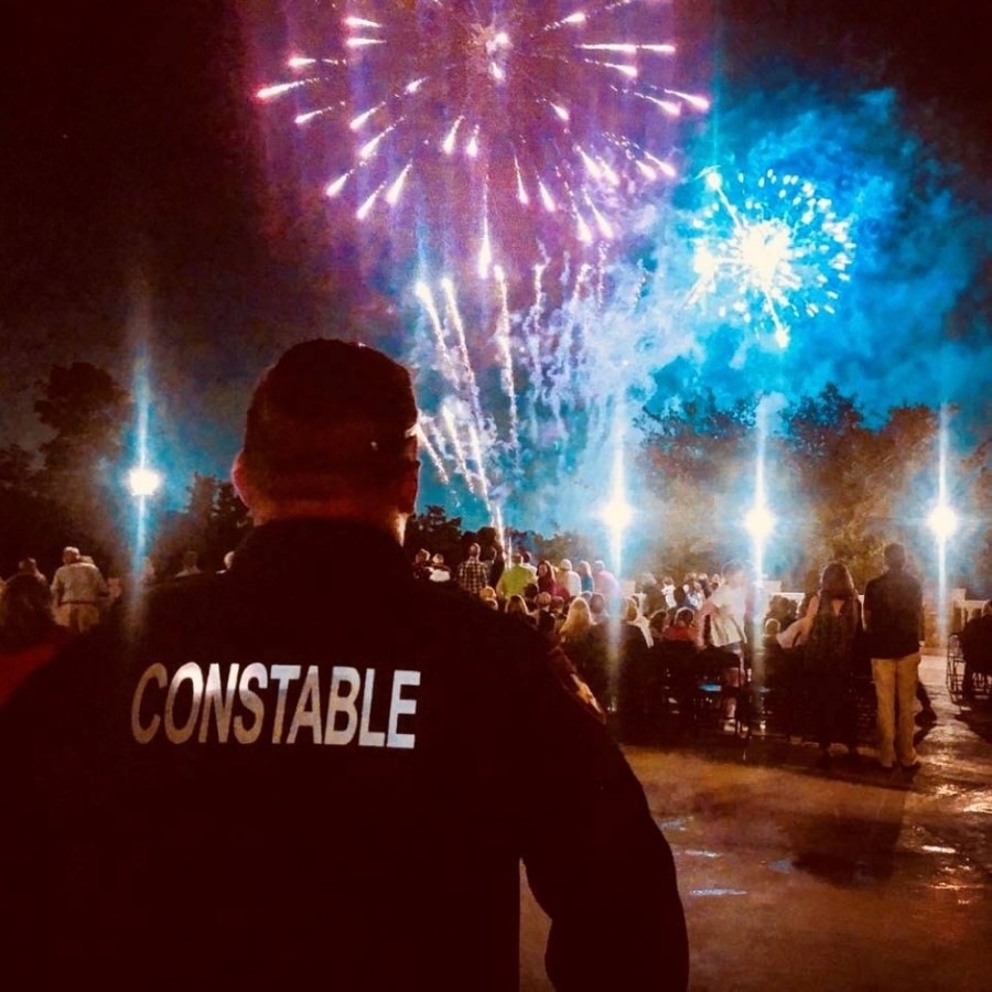 Fireworks are legal in unincorporated areas of Harris County, such as Spring and Cypress. (Courtesy Harris County Precinct 4 Constable's Office)